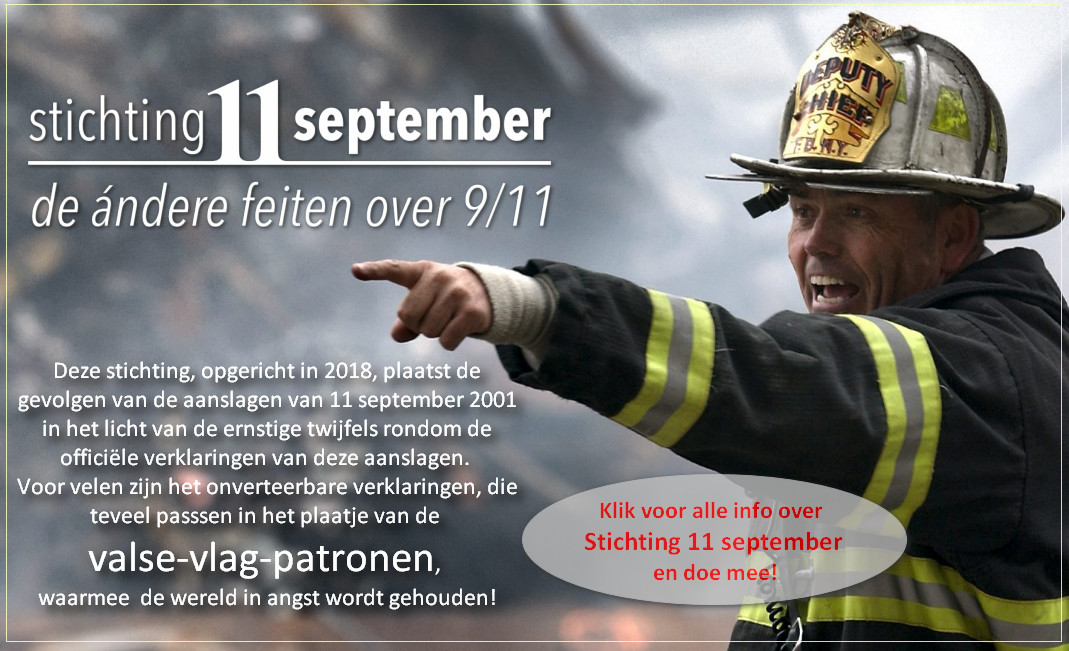 Banner Stichting 11 september