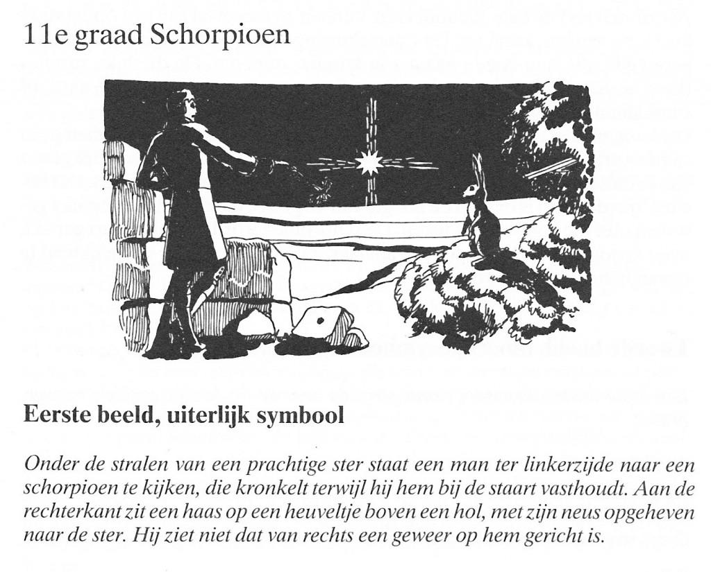 11de graad Schorpioen