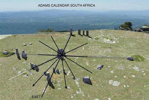 adams calendar aerial photo