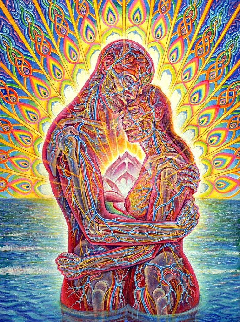Alex Grey: 'Oceans of Love'..