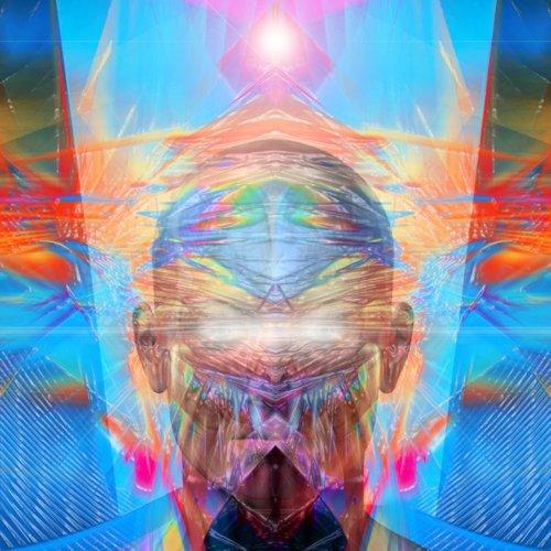 """""""Als Swaab kan voelen bij zichzelf wat de dieper liggende reden is dat hij bijvoorbeeld hersenonderzoeker is geworden (zijn eigen zelfonderzoek?) zou hij meer verbinding kunnen maken; hij flirt niet voor niets met spiritualiteit en de natuurgeneeskunde..."""" (afbeelding © Alex Grey)"""