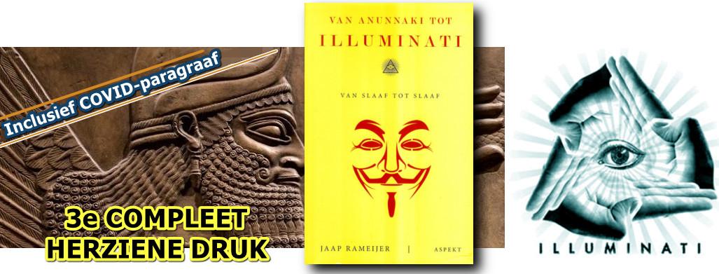 Van Annunaki tot Illuminati 3e druk banner