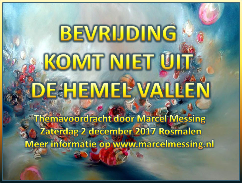 Marcel Messing 2 dec lezing