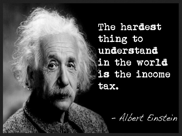 einstein-on-taxes-belasting