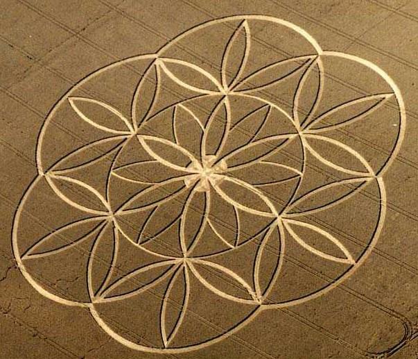 De flower of life, 12. Met de 13-in-het-midden..