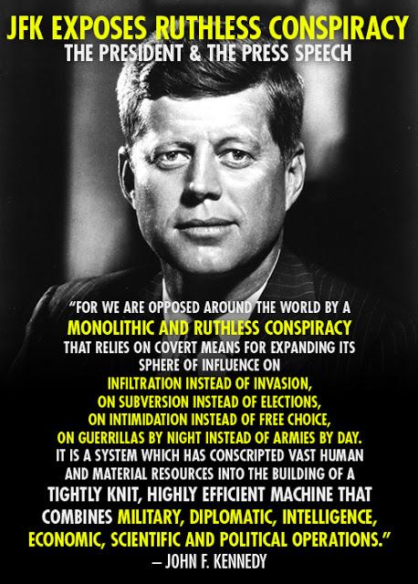 JFK on conspiracy