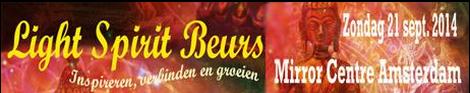 Light SPirit Beurs Amsterdam 21 september