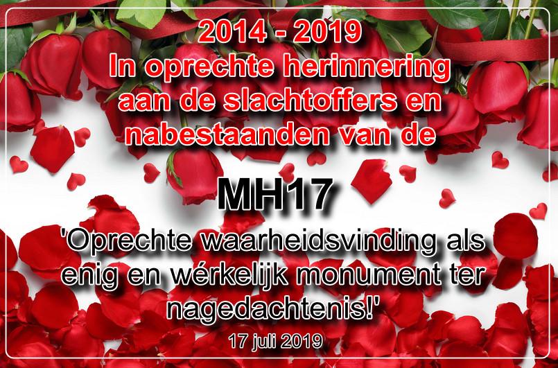 MH17 herdenking