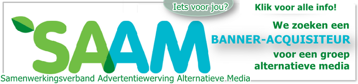 SAAM banner werving acquisiteur