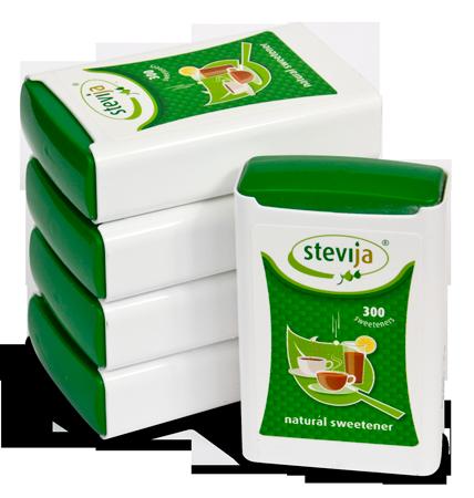 Stevia-zoetjes