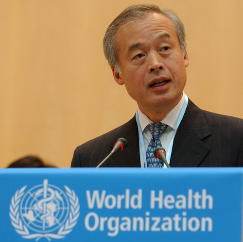r Tadataka Yamada, President of the Global Health Programme at the Bill and Melinda Gates Foundation, speaks after receiving the United Arab Emirates Health Foundation Prize on behalf of his foundation. The Gates Foundation was awarded for its outstanding contribution to health development.