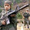 1 op de 10 soldaten in een gewapend conflict is kind. Ieder jaar worden 250.000 kinderen wereldwijd actief ingezet in oorlogen.