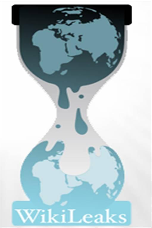 Het Wiki-logo: stroomt Wikileaks zand in de motor van de autoritaire wereldleiding?