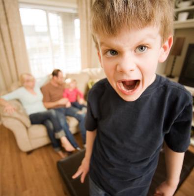 Eén van de 'gezichten' van ADHD; voor veel ouders, een maar al te bekend beeld..