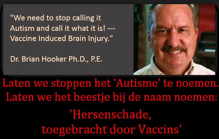 autisme brian hooker hersenschade