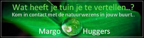 Tuinreading banner Margo Huggers