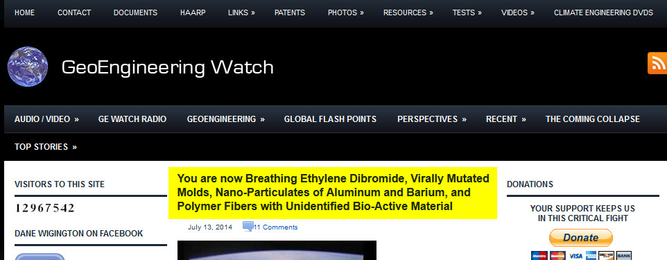 banner geo engineering watch
