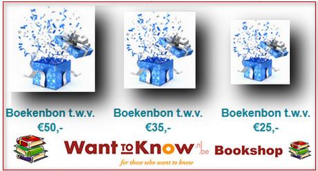 banner wanttoknow bookshop boekenbon