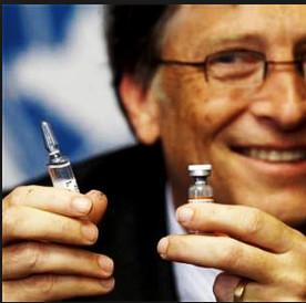 """Het is BIll Gates, de man van 50 US$-miljard, die plotseling de 'good guy' is geworden en uitspraken doet, dat met vaccins de wereldbevolking 'BEPERKT"""" zal kunnen worden..! (klik voor link!)"""