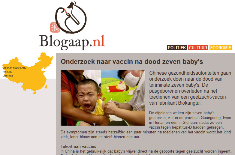 blogaap china vaccin