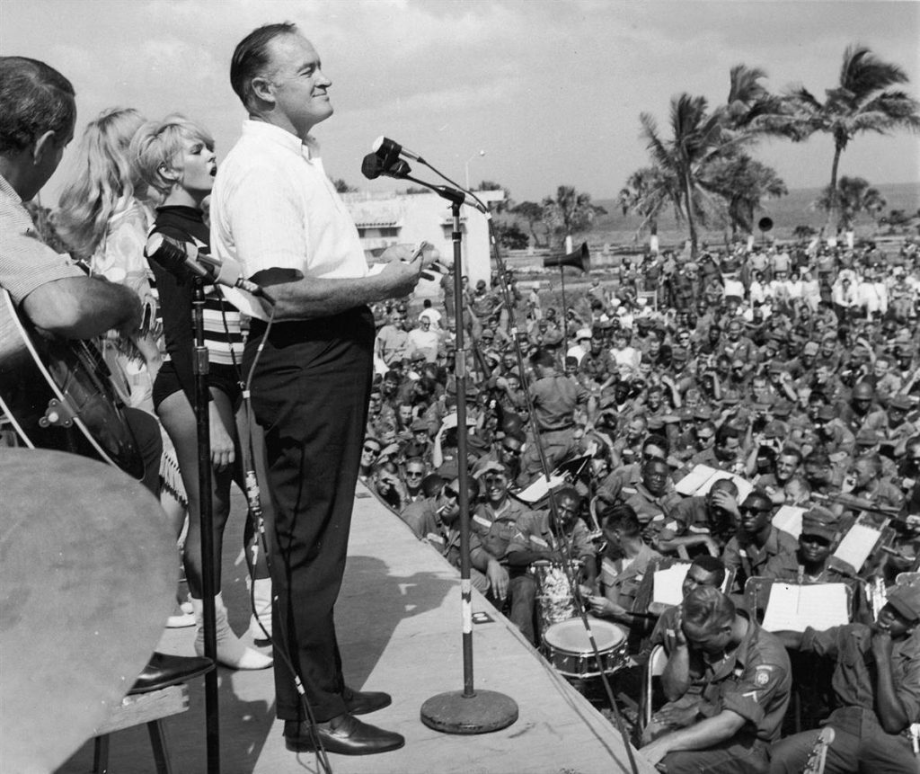 bob hope entertaining