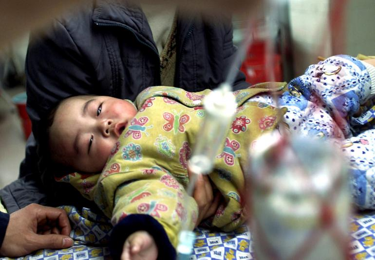 china baby vaccin