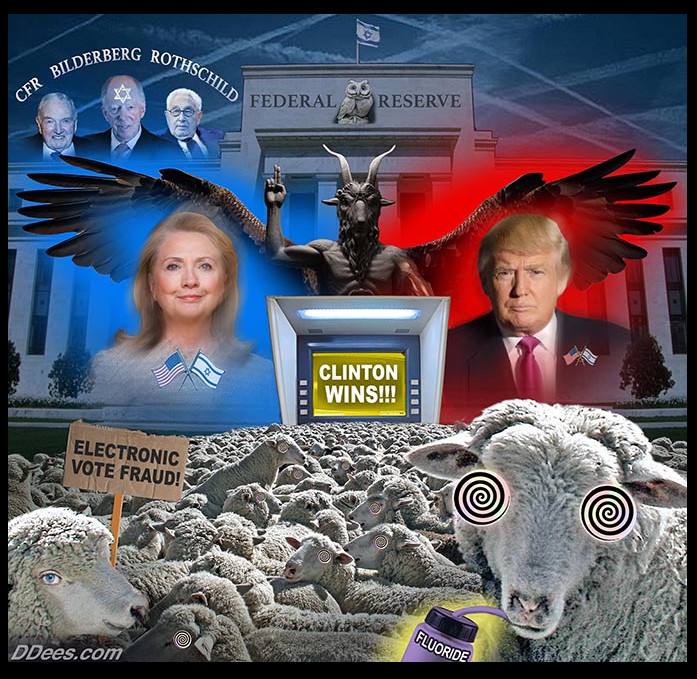 clinton trump FED rothschild