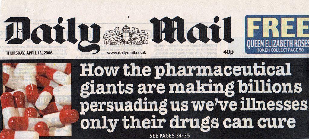 dailymail pharmaceutical giants