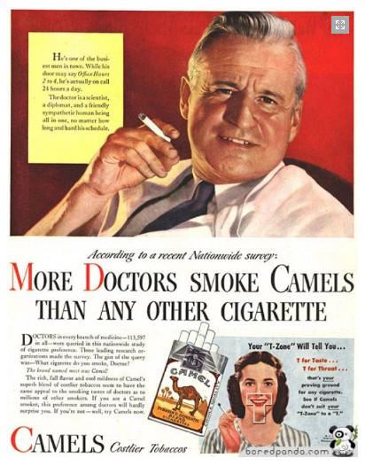 dokters camel roken