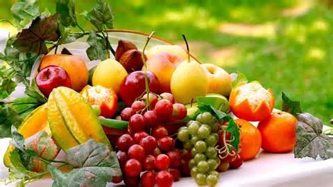 fruit tafel