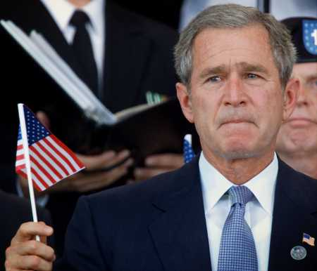 George Bush: a picture paints a thousand words?