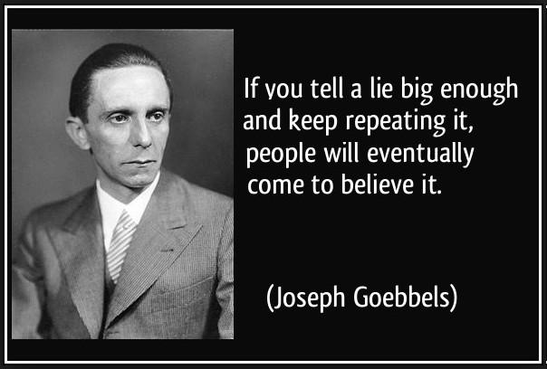 goebbels leugen