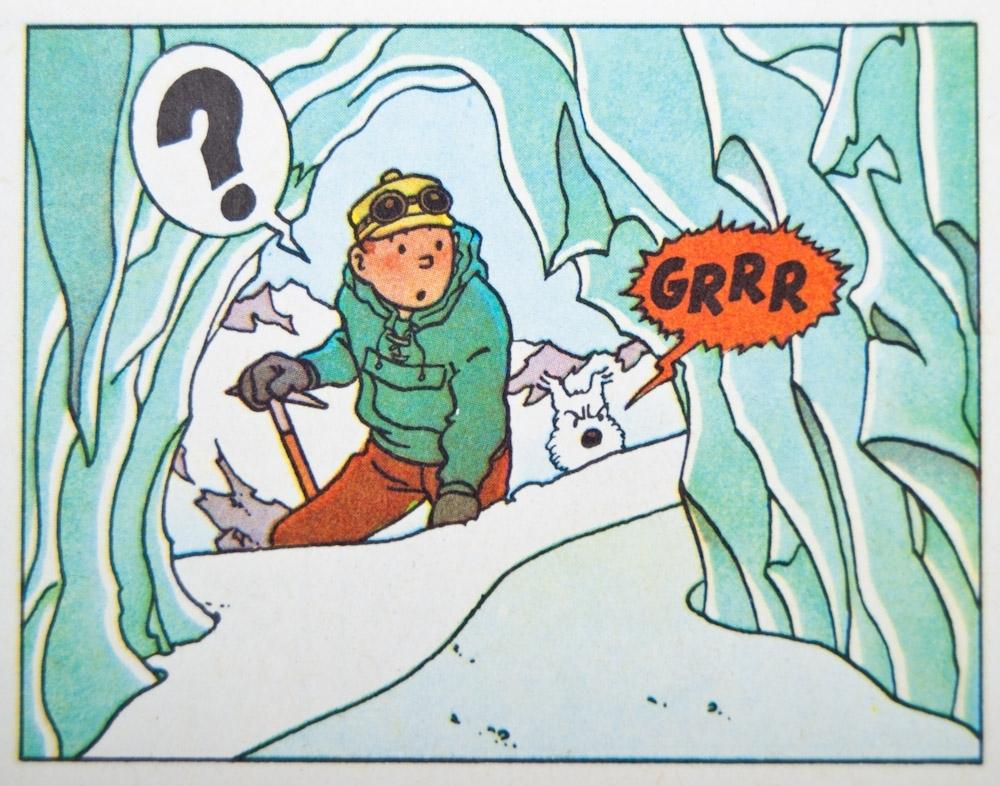 De uiterst verfijnde manier waarop auteur Hergé in zijn Kuifje-boek de Yeti presenteert, getuigt van veel respect, kennis en diepgang..!