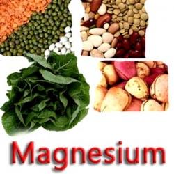 Magnesium komt o.a. voor een veel soorten groenten; het is een noodzakelijk element om in elke lichaamscel energie te produceren. Ook bij de aanmaak van meer dan 300 belangrijke enzymen speelt het een hoofdrol!