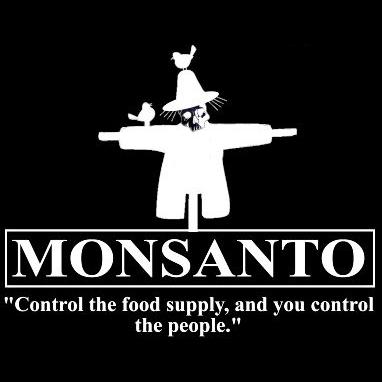 De daden van Monsanto en haar collega's passen naadloos in dit verhaal. Monsanto's doel is niets minder dan het controlleren van de volledige voedselketen.
