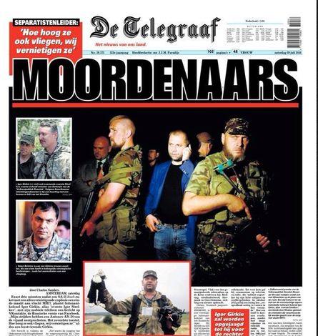 Het zijn krantenkoppen en leugens als deze, die de bevolking van Nederland vergiftigen met haat en vooringenomenheid. Een klein vraagteken achter deze beschuldiging, had een wereld van verschil uitgemaakt. Ook voor 'De Telegraaf'..!