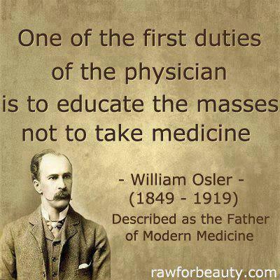 not to take medicin