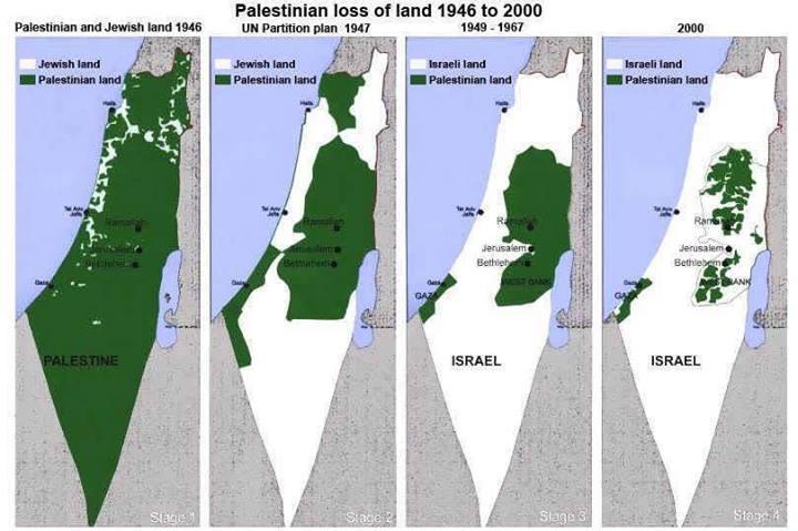 israel palestijns grondgebied