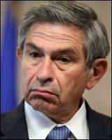 De uitgelekte doctrine van deze Paul Wolfowitz, neo-conservatief, lekte uit is nu nog steeds bewijsvoering van de manier waarop de wereld als schaakbord wordt behandeld.