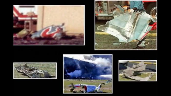pentagon vliegtuigwrakken 911