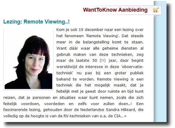 remote viewing lezing