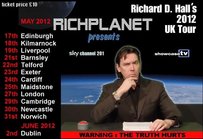 richard d hall richplanetTV tour2012
