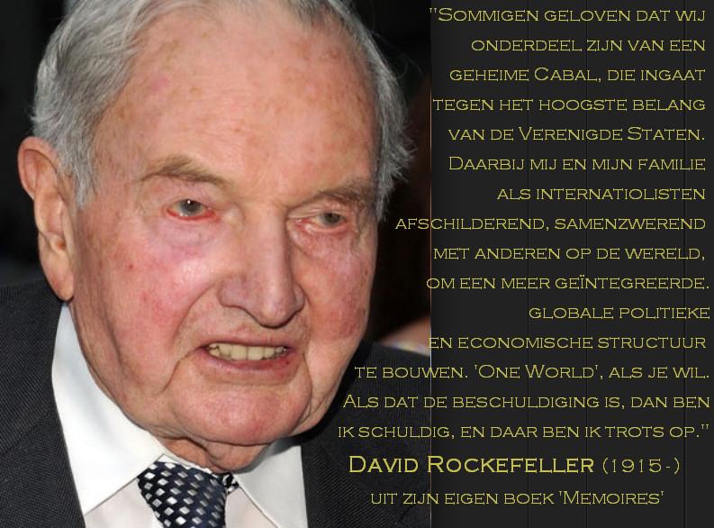 Eén van de grote voortrekkers van de 'New World Order', in de slipstream van de Rothschilds.. Uitspraken die er niet om liegen. (klik voor lead naar YouTube over bevolkings-'uitdunning')