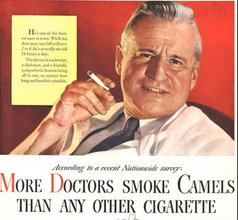Zou mevrouw de minister geraakt zijn door deze oude reclamespotjes van de tabaksindustrie...? Tijd voor Schippers om een zware pijp te roken..?