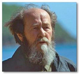 Alexander Solzhenitsyn laat zijn licht schijnen over dualiteit.