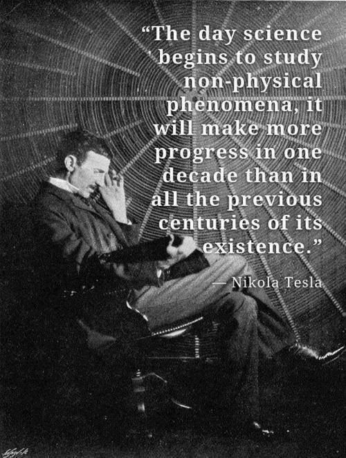 tesla non physical phenomena
