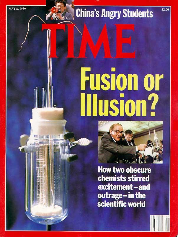 Het trauma van de mislukte controle-experimenten spat van de cover van deze TIME-magazine af.