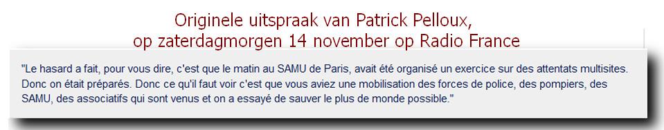 uitspraak Patrick Pelloux parijs aanslag