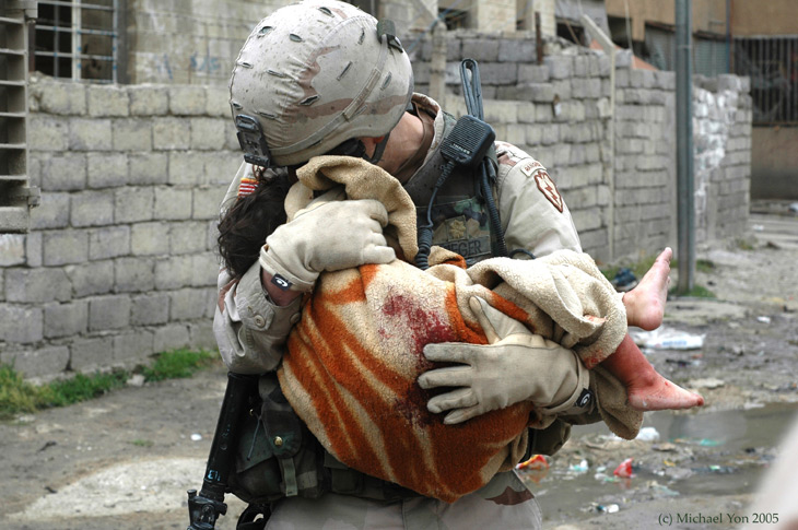 Soldaten zijn mensen van vlees en bloed, net als JIJ en IK. Ook zij voelen medemenselijkheid, ook zij zijn geen machines!