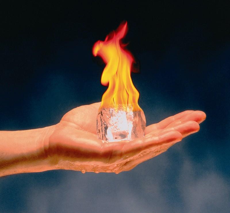 Water en vuur. Hebben we de oplossing zo simpel voor handen?